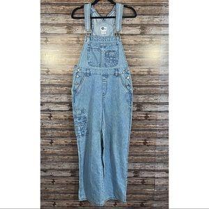 Arizona Jeans- Lighter Wash Overall Bibs- Sz. M